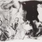 Uno e Molteplice, 2012Lithography on stone – mm 300x370Edition: 10 + 2 PDA - Paper mm 350x500 – Printed by the artist