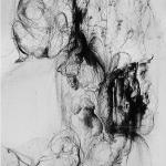 Avvolgimento organico, 2012Lithography on stone – mm 390 x 300Edition: 10 + 3 PDA - Paper mm 500x350 – Printed by the artist