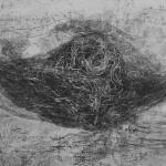 Origine II (detail), 2018Etching, mezzotint, soft ground etching - mm 300x450
