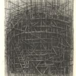 Diana Morales GaliciaStructure, 2019Drypoint – mm 180x140
